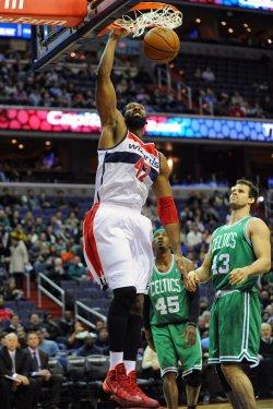Washington Wizards vs Boston Celtics in Washington