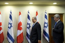 Canadian PM Visits Israel