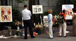 Memorial to Katharine Hepburn erected in NYC park bearing her name