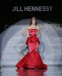 The Heart Truth Red Dress Collection fashion show In New York