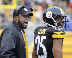 Pittsburgh Steelers Coach Mike Tomlin in Pittsburgh