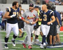 Cardinals Lance Berkman in Texas