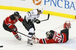 Los Angeles Kings play the New Jersey Devils in game 2 of the Stanley Cup Finals at the Prudential Center in New Jersey