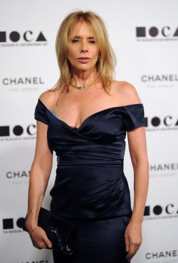 Rosanna Arquette arrives at the Museum of Contemporary Art annual gala in Los Angeles