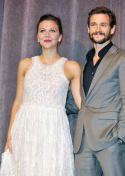 Maggie Gyllenhaal and Hugh Dancy attend 'Hysteria' world premiere at the Toronto International Film Festival