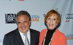 Jim Gianopulos and Carol Burnett attend Backstage at the Geffen fundraiser in Los Angeles