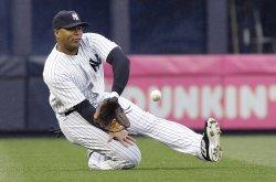 New York Yankees Andruw Jones at Yankee Stadium in New York