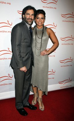 "Rachael Ray and husband arrive for ""A Funny Thing Happened on the Way to Cure Parkinson's"" Benefit in New York"