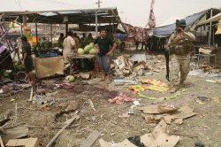 Bomb Explosion in Sadr City in Baghdad