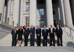 G-7 Summit finance ministers and central bank governors meet in Washington