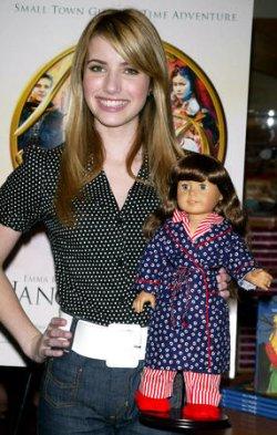 "EMMA ROBERTS PROMOTES NEW MOVIE ""NANCY DREW"" IN NEW YORK"