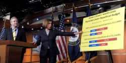 House Democrats discuss budget, spending cuts in Washington