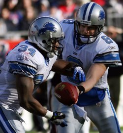 DETROIT LIONS VS NEW ENGLAND PATRIOTS