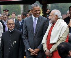 Obama Attends Republic Day Parade in New Delhi