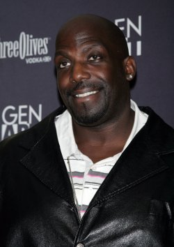 """Kevin Brown arrives at the """"Black Dynamite"""" Premiere in New York"""