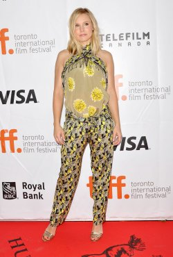 "Kristen Bell attends world premiere of ""The Judge"" at the Toronto International Film Festival"