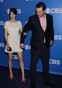 CBS Upfronts Red Carpet Arrivals in New York