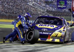 Bank of America 500 at the Charlotte Motor Speedway in Concord, North Carolina