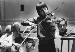 Joshua Bell at age 14
