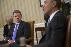 Obama Meets With Colombian President Juan Manuel Santos in Washington, D.C.