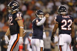 Bears Cutler talks with Olsen against Cardinals in Chicago