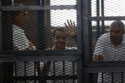 Three Al-Jazeera Journalists Jailed for Seven Years in Egypt