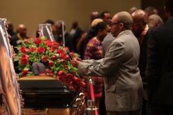 Michael Brown funeral in St. Louis