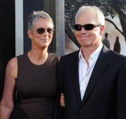 "Jamie Lee Curtis and Christopher Guest attend the premiere of ""Flipped"" in Los Angeles"