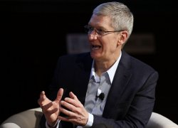 "Apple CEO Tim Cook speaks at ""Climate Week NYC"""
