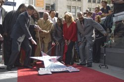 The Miracles honored with a star on the Walk of Fame