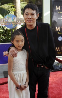 """The Mummy: Tomb of the Dragon Emperor"" premieres in Los Angeles"