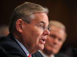 Sen. Bill Nelson (D-FL) and Sen. Robert Menendez (D-NJ) testify on the BP oil rig accident in Washington
