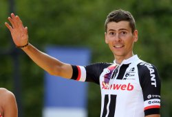 Warren Barguil wins best climber at the Tour de France in Paris