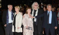 "Tom Courtenay, Maggie Smith, Pauline Collins, Billy Connolly and Dustin Hoffman attend the Gala Screening of ""Quartet"" in London."