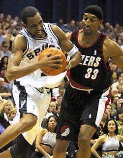 San Antonio Spurs vs. Portland Trailblazers