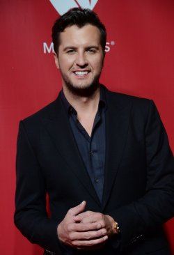 Luke Bryan attends the MusiCares Person of the Year gala in Los Angeles