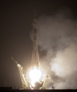 Soyuz Expedition 22 launches en route to International Space Station from Kazakhstan