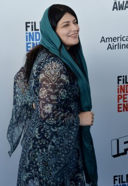 Rokhsareh Ghaemmaghami attends Film Independent Spirit Awards in Santa Monica, California
