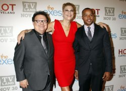 Wayne Knight, Kristen Johnston and Donald Faison arrive for TV Land's Holiday Premiere Party in New York