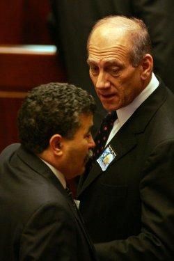 ISRAELI PM EHUD OLMERT HONORS RABIN ON ANNIVERSARY OF HIS ASSASSINATION