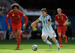 2014 FIFA World Cup Quarter Final - Argentina v Belgium