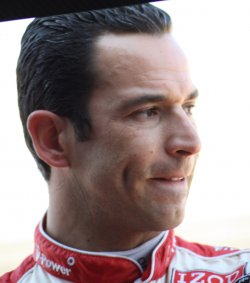 Helio Castroneves will start sixth in 96th Indianapolis 500 in Indianapolis, Indiana.