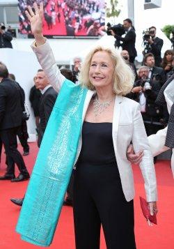 Brigitte Fossey attends the Cannes Film Festival