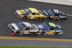 NASCAR Sprint Cup Coke Zero 400 at Daytona Beach, Florida