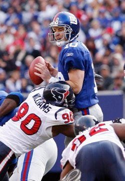 NEW YORK GIANTS VS HOUSTON TEXANS