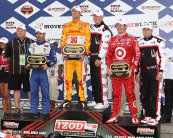 IZOD IndyCar Series MoveThatBlock.com Indy 225 at Loudon, NH
