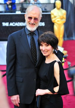 James Cromwell and Anne Ulvestad at the 84th Academy Awards in Los Angeles