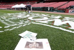 Busch Stadium prepares for World Series in St. Louis