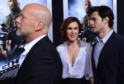 "Bruce Willis attends the ""G.I Joe: Retaliation"" premiere in Los Angeles"