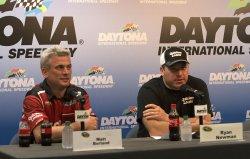NASCAR Sprint Cup Series driver Ryan Newman makes announcement